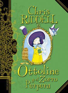 Vuelve Chris Riddell con una nueva aventura de Ottoline, Ottoline y el Zorro Púrpura.