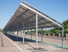 Mas techos hechos con paneles solares