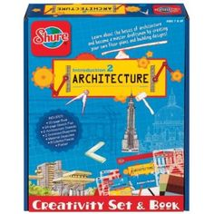 Introduction to Architecture - A set to inspire kids to learn about and create their own structural masterpieces. #STEM #gift #ideas #holiday #shopping #building