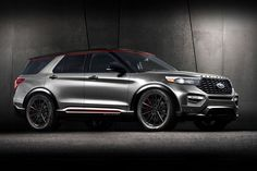 All-New Ford Escape, Ford Explorer Join Ford Expedition With Tricked-out Makeovers for SEMA 2019 Ford Explorer Limited, 2020 Ford Explorer, Explorer Sport, Sema 2019, 2019 Ford, Black Chrome Wheels, Ford News, Jeep Gladiator, Ford Expedition