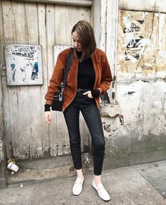 5a9e44359a15 Shop Urban Renewal Vintage Remnants Tan Suede Bomber Jacket at Urban  Outfitters today.