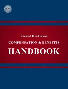 Wounded, ill, and injured service members, a handbook from the Department of Defense on Compensation and Benefits