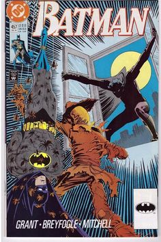 Batman #457 Dec 1990 DC Comic Book Scarecrow Master Of Fear