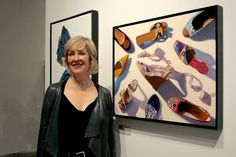 Artist Elizabeth Barlow | More Than Your Selfie Talks Exhibit