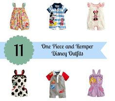 Disney Outfits for Babies and Toddlers