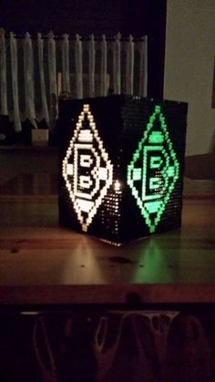 [ Do it yourself Lamp made of beaded pearls collage 21 Perler Beads Instructions, Perler Bead Templates, Do It Yourself Lampe, Collage, Hama Beads, Beading Patterns, Pearls, Projects, Diy