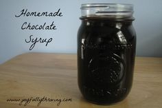 This is the best chocolate syrup you will ever taste! It's quick to make and frugal too. Once you try this, you'll never buy store bought chocolate syrup again!