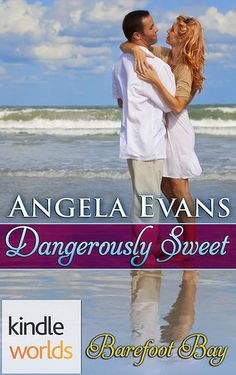 Dex is determined to keep her safe, but the only way he can see to do that is by keeping her away from him. Amelia has finally found the recipe for her sweet life, but can she convince Dex that their love is worth the risk? Dangerously Sweet by Angela Evans A Roxanne St. Claire's Barefoot Bay novella Genre: Romantic Suspense Content/Theme(s): Undercover Cop, Men in Uniform, Contemporary Release Date: August 23, 2016
