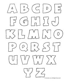 6 Best Images of Chunky Letter Stencils Free Printable - Free Printable Cut Out Alphabet Stencils, Large Printable Letter Stencils and Printable Bubble Letters Alphabet 3d, Bubble Letters Alphabet, Bubble Letter Fonts, Free Printable Alphabet Letters, Printable Letter Templates, Alphabet Templates, Graffiti Alphabet, Applique Templates, Stencil Lettering