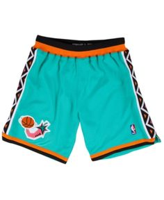 7ea21dd56 Mitchell  amp  Ness Men s Nba All Star Authentic Nba Shorts - Green XL Retro  Shorts
