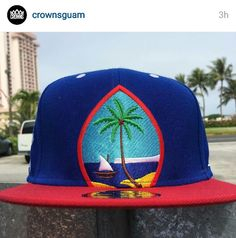 7c351862598 Guam seal snap back from Crowns Guam