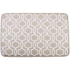 Bath Mats - Bathroom Accessories - Briscoes - Just Home Matrix Microfibre Bathmat