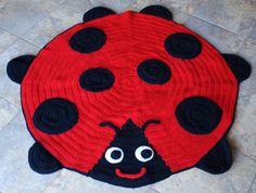 Crochet Ladybird Rugs