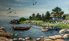 An old fish cottage outside from Hailuoto by ~JoreJarvis on deviantARTjorejarvis.deviantart.com -
