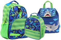 #SharkWeek is here! Take a bite out of the fun with our new #sharkbackpacks! http://www.thecrazydazy.com/Stephen-Joseph-Shark-s/2115.htm#utm_sguid=167017,11c0e18c-4cb7-2fe9-9129-0eedbd6b338e
