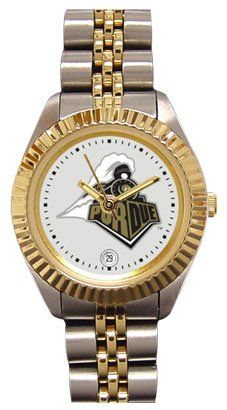 Purdue University Boilermakers Ladies Executive Stainless Steel Sports Watch by SunTime. $149.99