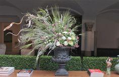 www.sweetpfloral.com Sweet Pea Floral Design XL floral arrangement for the Detroit Institute of Arts DIA