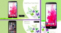 Aren't butterflies a great way to refresh your app marketing graphics with some spring spirit? Grab this comprehensive spring templates pack. The pack includes Google Play featured image / screen shots, social covers, Twitter app promotion cards and Facebook install ads. #MobileAppMarketing #MobileAppDevelopers