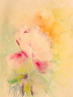 Rita Vaselli watercolors: DIPINGERE FIORI AD ACQUARELLO: parte terza
