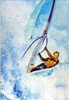 Commission a portrait painting or mural direct from artist Hanne Lore  Koehler online. Shop for sports art 49bbcd732aa