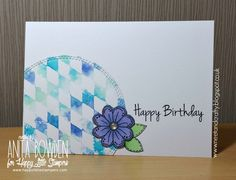 Good evening, crafters This is a scheduled post as it's my brother's wedding day today and no doubt I'll still be partying and will have h...