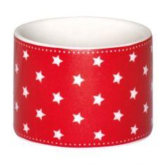 GreenGate Autumn/Winter 2014 Stoneware Napkin Ring Star Red D 4,3 cm