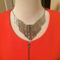 "Selling this ""Triangular Art Deco Statement Necklace -NWOT"" in my Poshmark closet! My username is: nyreecox. #shopmycloset #poshmark #fashion #shopping #style #forsale #Boutique #Jewelry"