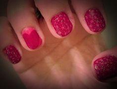 Feb 2013: Nail Art - Valentine's Day