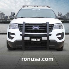 Check out our awesome push bars for cars. #ford #police #cops