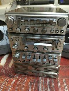 COMPONENT PIONEER GEX 8 TUNER+ 2 GM 4 APMLIFIER +CD 5 EGALIZER+ KP 88G+ 2 TS-X 8 Pioneer Car Stereo, Pioneer Audio, Radios, Retro, Radio Antigua, Hi Fi System, Hifi Speakers, Music System, Boombox