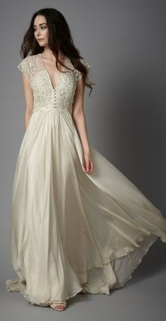Catherine Deane, Thea dress, gorgeous detail
