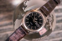 The Value Proposition: A Seventy-Five Dollar Watch That Looks Like A Million Bucks Seiko 5 Watches, Gentleman Watch, Replacement Watch Bands, Cheap Watches, Expensive Watches, Mechanical Watch, Watch Brands, Omega Watch, Buy Now