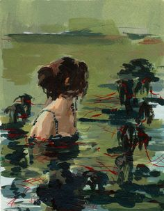 With the Fishes. Clare Elsaesser
