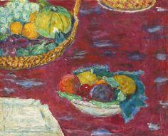 Pierre Bonnard 1867 - 1947 Cup And Fruit Basket