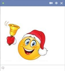 Add to the seasonal celebrations when you send our special Christmas smiley on FB.