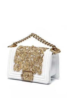 Chanel Resort 2013. This isn't just a handbag, its a piece of art! #Stunning