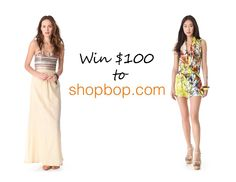 Giveaway of the Month: Win $100 Gift Card to SHOPBOP - LaBelleMel
