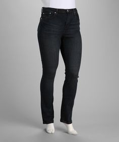 Take a look at this Antique Wash Leopard Pocket Plus-Size Bootcut Jeans by VIP Jeans on #zulily today!