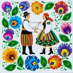 Folk Story....Polish Folk Art.                                                                                                                                                                                 More
