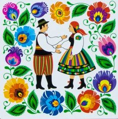 Folk Story....Polish Folk Art.                                                                                                                                                                                 More