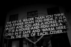 A ROBERT MONTGOMERY artwork, London. Photo Olivier Zahm