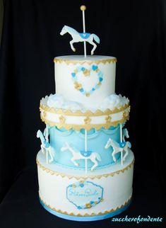 Carousel cake - http://cakesdecor.com/cakes/301233-carousel-cake