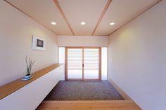 Minimalist House Design, Minimalist Home, Japanese Interior, Interior Decorating, Interior Design, House Entrance, Japanese House, Interior Architecture, Foyer