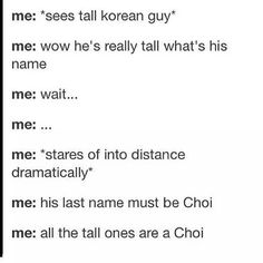 Lol this is weirdly true! Choi Si Won, Choi Daniel and Choi Jin Hyuk are sexy cases in point!lol