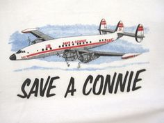 Vintage Save A Connie Aircraft Sweatshirt by irievibe420 on Etsy, $40.00