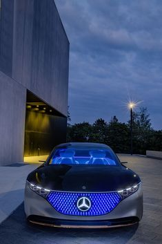 2019 Mercedes-Benz Vision EQS Concept - HQ Pictures, Specs, information and Videos - Dailyrevs Mercedes Benz Sedan, Mercedes Benz For Sale, Mercedes Auto, Mercedes Electric, Electric Cars, Mercedes Benz Wallpaper, Best Luxury Cars, Maybach, Sport Cars