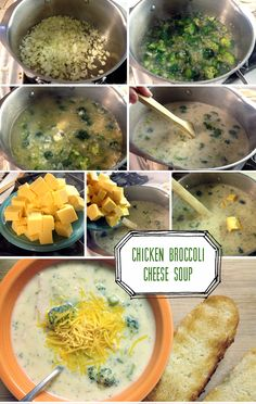 chicken broccoli cheese soup