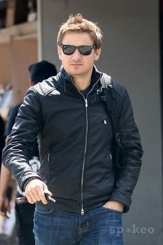 Jeremy Renner out and about