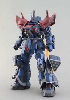 GUNDAM GUY: RE/100 EXAM Efreet Custom - Painted Build