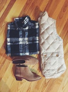 Winter must-have: quilted vest.